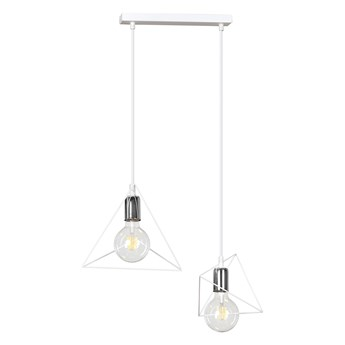 DEX 2 WHITE 847/2 lampa wisząca regulowana ultra nowoczesny klosz biała