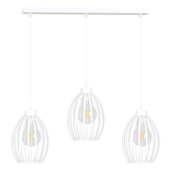 BORIS 3 WHITE 155/3 lampa sufitowy wisząca regulowana biała styl loftowy