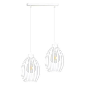 BORIS 2 WHITE 155/2 lampa sufitowy wisząca regulowana biała styl loftowy