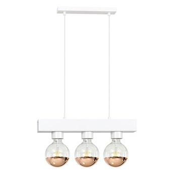 DOROS 3 WHITE 217/3 nowoczesna lampa wisząca biała regulowana