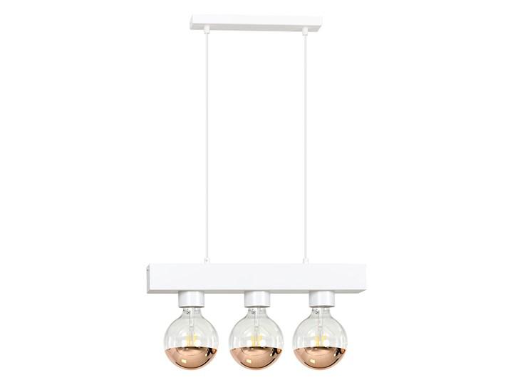 DOROS 3 WHITE 217/3 nowoczesna lampa wisząca biała regulowana Lampa LED Metal Styl Nowoczesny