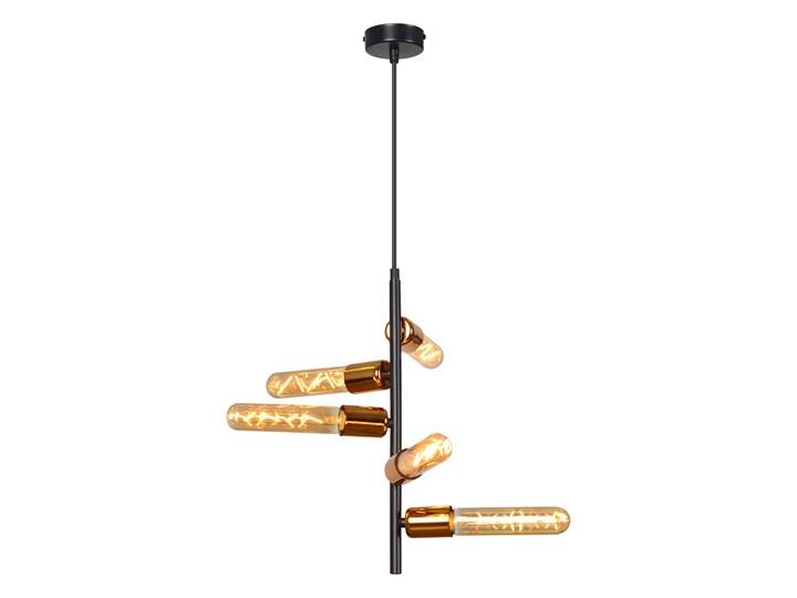 ADALIO 5 BLACK 162/5 industrialna lampa wisząca typu loft miedziane dodatki Lampa LED Metal Kolor Miedziany