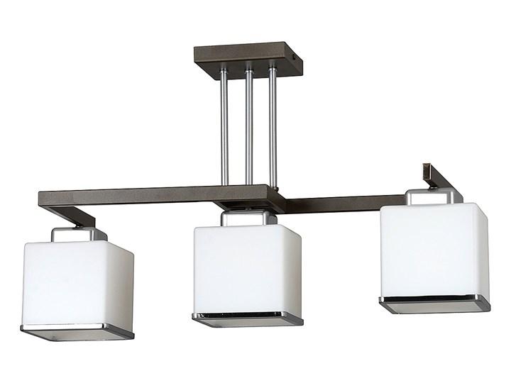 JOBI 3 WENGE 259/3 lampa sufitowa plafon szklane białe klosze dużo światła