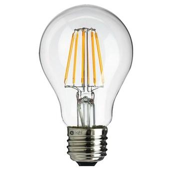 ŻARÓWKA LED FILAMENT A60 E27 600LM CIEPŁA 6W = 48W