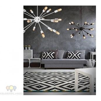 AZ1658 ORBIT White AZZARDO lampa wisząca loft