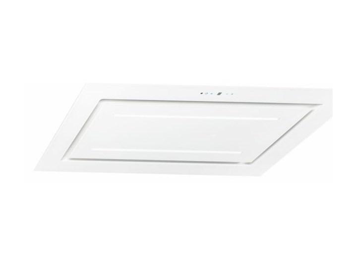 Okap sufitowy Grand Super Slim White 120 cm Szerokość 96 cm Kolor Biały