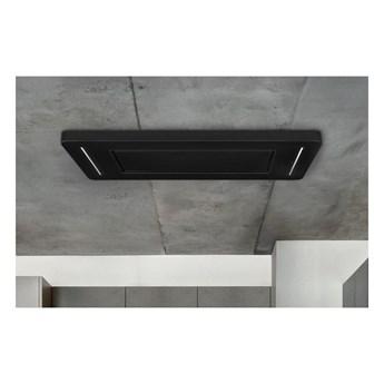 Okap sufitowy Decor CR Black 90 cm