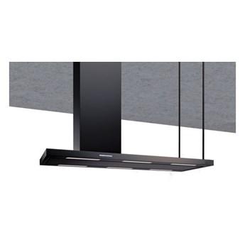 Okap wyspowy Metropolis Black Matt 146 cm