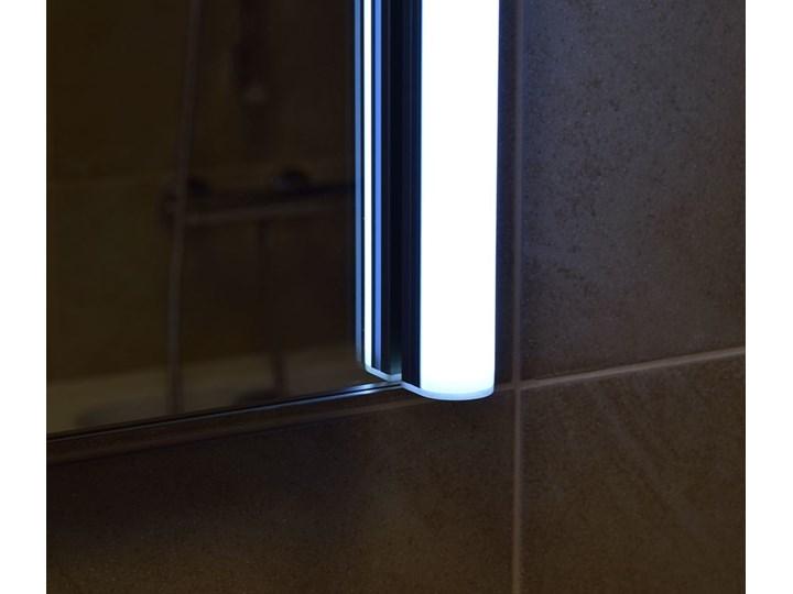 Lustro LED illuminated LED Tube 02 Ścienne Prostokątne Lustro podświetlane Pomieszczenie Sypialnia