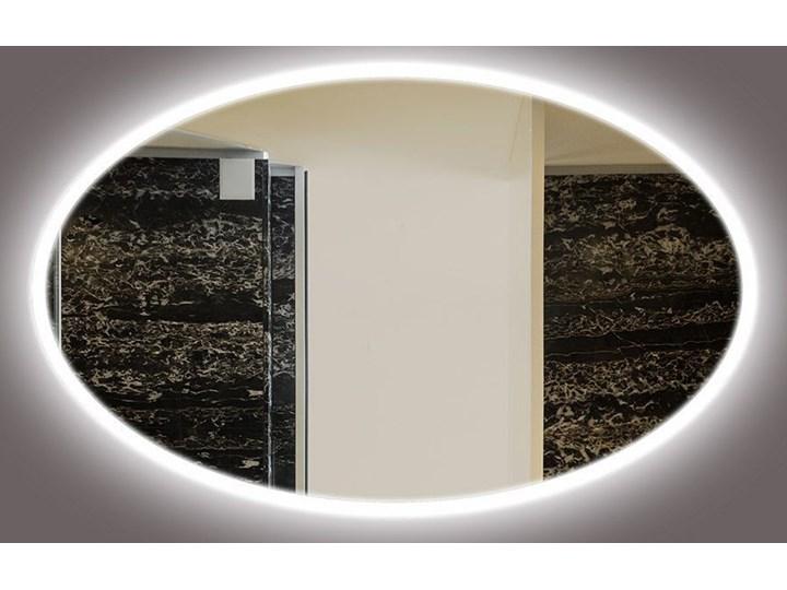 Lustro LED Rina Edge Ścienne Lustro podświetlane Owalne Styl Nowoczesny