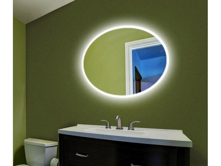 Lustro LED Rina Edge Ścienne Lustro podświetlane Owalne Kategoria Lustra Styl Nowoczesny
