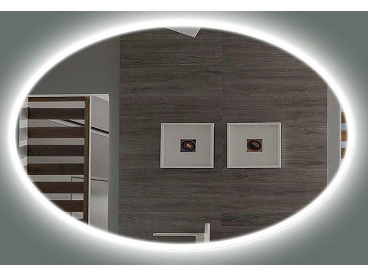 Lustro LED Rina Edge Owalne Kategoria Lustra Lustro podświetlane Ścienne Styl Nowoczesny