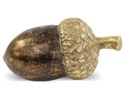 ŻOŁĄDŹ ozdoba, dekoracja brązowo-złota 16x8x8 cm