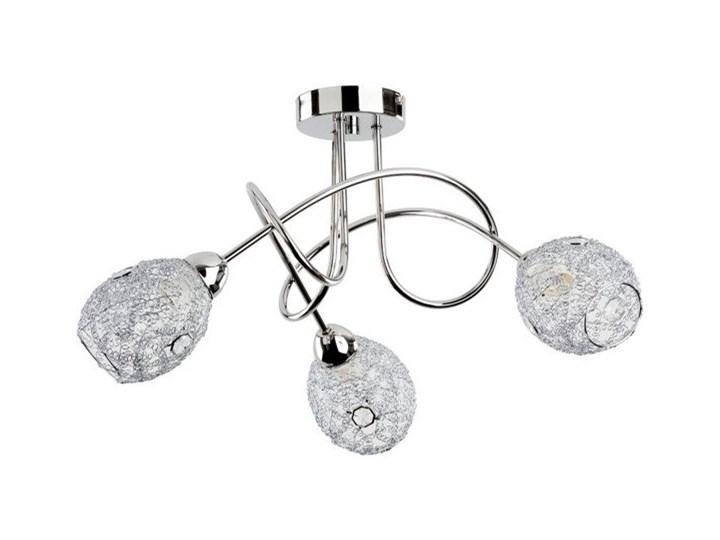 Lampa sufitowa nowoczesna druciana żyrandol VERA III chrom śr. 54cm