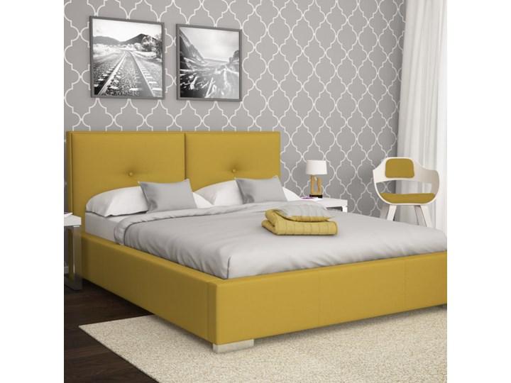 Łóżko Magnolia  Grupa 1 Bez pojemnika Buk biały Rozmiar materaca 200x200 cm