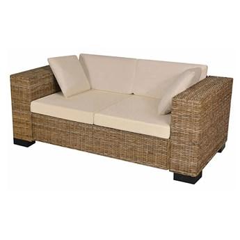 Sofa rattanowa 2-osobowa Carrera 2C