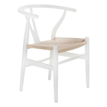 Krzesło typu hałas Ermi - białe