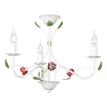 SPUTNIK 3 292/3 klasyczny żyrandol świecznikowy motyw kwiatowy