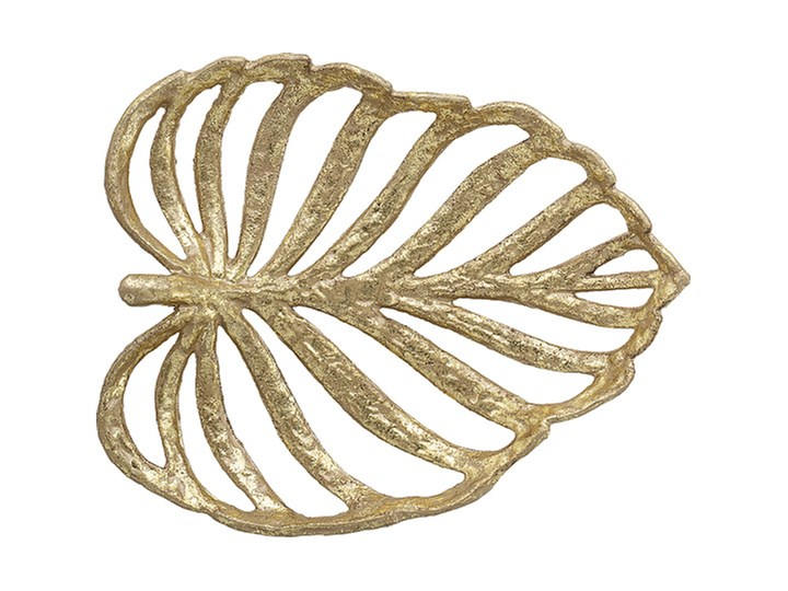 Dekoracja złoty liść Bloomingville