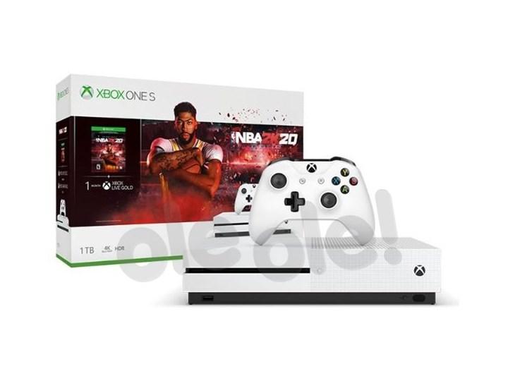 Xbox One S 1TB + NBA 2K20- szybka wysyłka! - Raty 10x0% Dysk twardy 1 TB