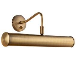 Kinkiet LAMPA klasyczna TURNER PL350-E14-SWAN Endon metalowa OPRAWA ścienna galeryjka nad obraz antyczny mosiądz