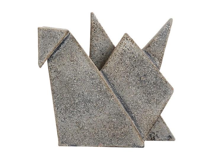 Nowoczesna dekoracja stojąca Ptak z terakoty MUUBS