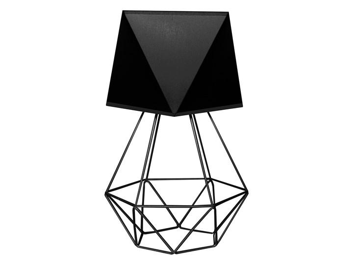 Lampka nocna KARO B-1311/1 BK+ ADAMANT Lampa nocna Wysokość 40 cm Styl Industrialny Styl Nowoczesny