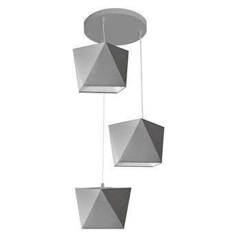 Lampa wisząca ADAMANT szara W-KD 0501/3 GR