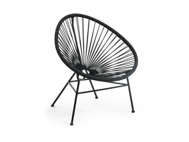 Fotel Samantha 72x84 cm czarny