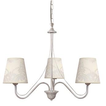 Lampa wisząca z abażurami MALBO II W-2920/3 WT+AB