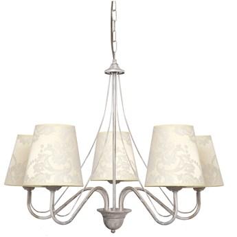 Lampa wisząca z abażurami MALBO II W-2920/5 WT+AB