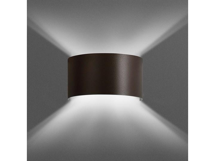 FOLD WENGE 950/4 kinkiet na ścianę półokrągły brązowy ciekawy efekt świetlny