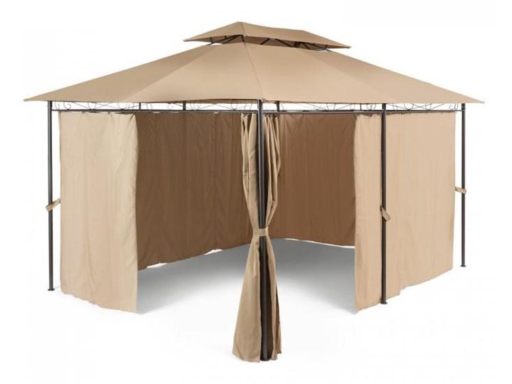 Blumfeldt Grandezza Pawilon ogrodowy Namiot imprezowy 3x4m Stal Poliester brązowy