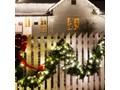 Blumfeldt Forsthaus girlanda z jedliny dekoracja świąteczna 12m 180 LED jasnobiała
