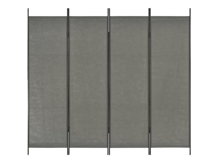 vidaXL Parawan 4-panelowy, antracytowy, 200 x 180 cm