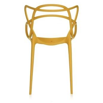 Krzesło Masters Musztardowy