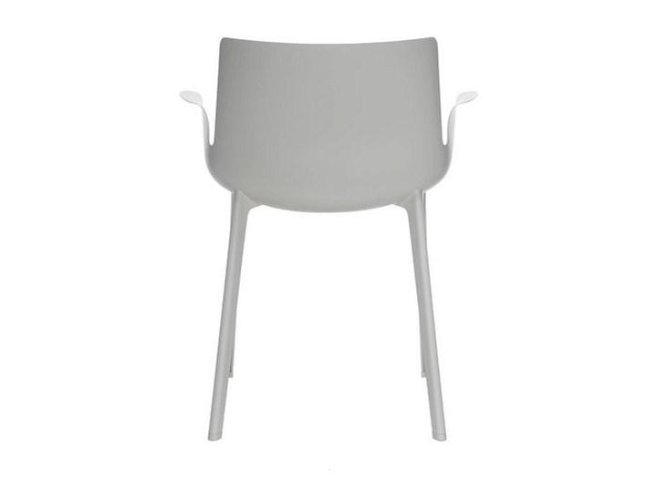 Krzesło Piuma Szary Styl Industrialny Szerokość 62 cm Krzesło inspirowane Tworzywo sztuczne Z podłokietnikiem Szerokość 50 cm Głębokość 54 cm Wysokość 48 cm Wysokość 77 cm Styl Nowoczesny