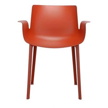 Krzesło Piuma Pomarańczowy