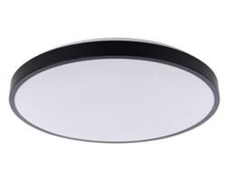Plafon lampa sufitowa AGNES ROUND LED 22W czarny śr. 38,5cm