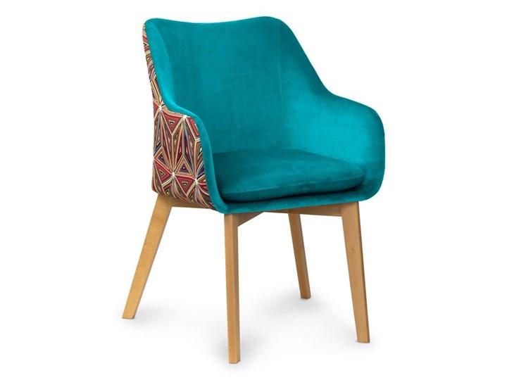 Krzesło HANN Turkus/Malavi- orzech, biały, czar