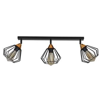 VESTA 3A BLACK 392/3A spot plafon sufitowy LED industrialny LOFT regulowany