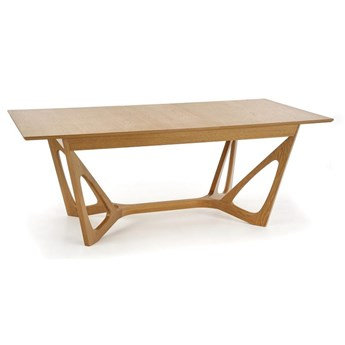 Fornirowany stół do jadalni Wenanty dąb miodowy
