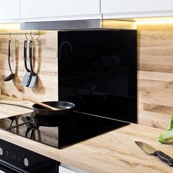 Szkło przyblatowe laminowane 0,8 x szer. 60 x wys. 60 cm 0,36 m2 lakier czarne