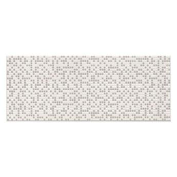 Dekor Pixel Ceramika Color 25 x 60 cm biały