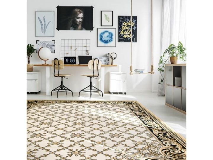 Dywan Optimal Felis 120 x 170 cm kremowy Prostokątny Dywany Syntetyk 120x170 cm Pomieszczenie Salon
