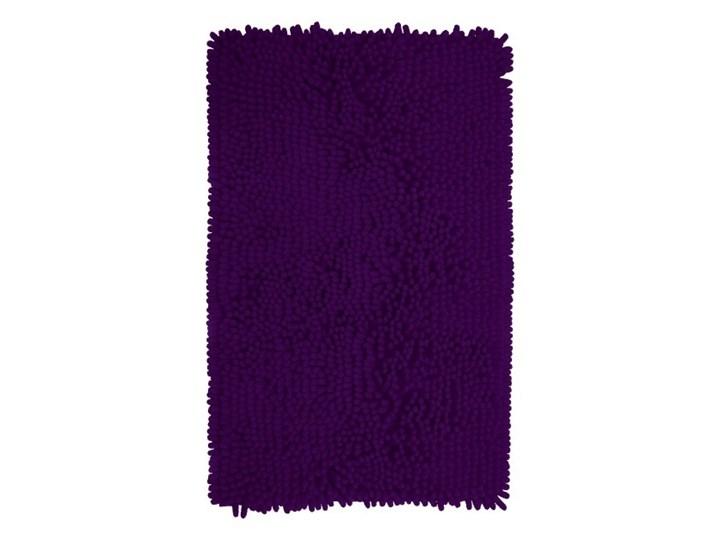 Dywanik łazienkowy Abava 50 x 80 cm fioletowy Prostokątny Poliester 50x80 cm Kategoria Dywaniki łazienkowe