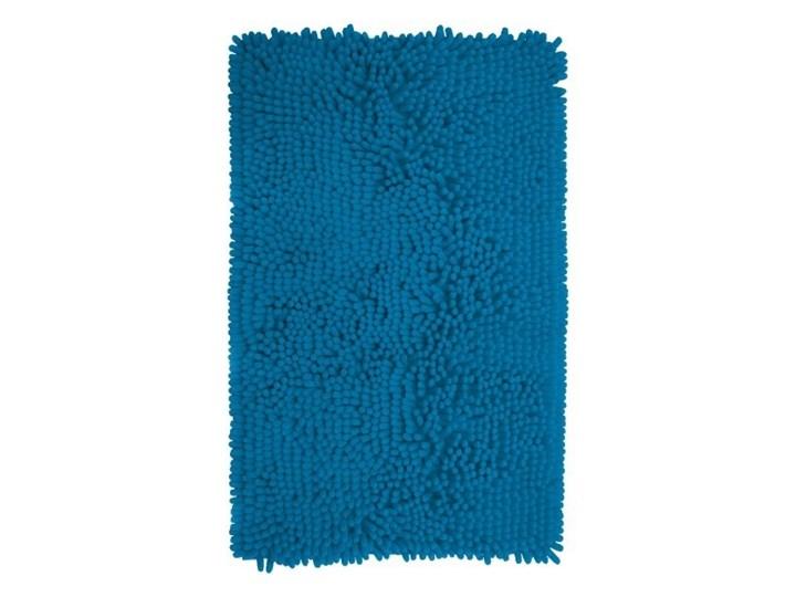 Dywanik łazienkowy Abava 50 x 80 cm niebieski Prostokątny 50x80 cm Poliester Kategoria Dywaniki łazienkowe