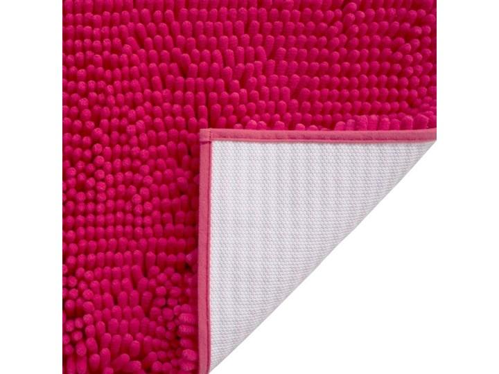 Dywanik łazienkowy Abava 50 x 80 cm różowy Kategoria Dywaniki łazienkowe Poliester Prostokątny 50x80 cm Kolor Czerwony