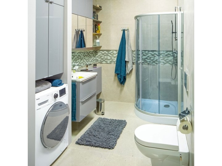 Dywanik łazienkowy Abava 50 x 80 cm szary 50x80 cm Prostokątny Kategoria Dywaniki łazienkowe