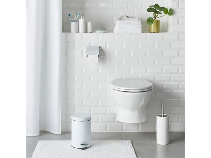 Dywanik łazienkowy bawełniany Diani 50 x 80 cm biały Prostokątny 50x80 cm Bawełna Kategoria Dywaniki łazienkowe